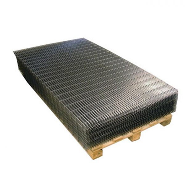 Black-steel-welded-wire-mesh-panels